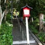 99段。この階段を登れば・・・
