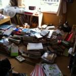 マイルーム四畳半だけでこれだけの本!