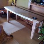 栃のテーブル ほっ欲しい!